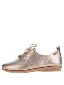 Pantofi argintii Pikolinos Calabria din piele