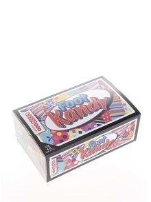 Súprava šestich dámskych farebných vzorovaných ponožiek Oddsocks Kandy