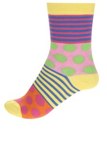 Set șase șosete multicolore Oddsocks Polka