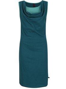 Tmavě zelené šaty bez rukávů Tranquillo Sophia