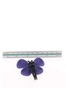 Fialový vonný motýlek do auta Motýlek Marta Black Orchid