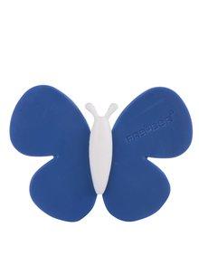 Tmavě modrý vonný motýlek do auta Motýlek Marta Blue Ice