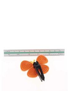 Oranžový vonný motýlek do auta  Motýlek Marta Sicily