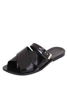 Čierne papuče so sponou Melissa Diane