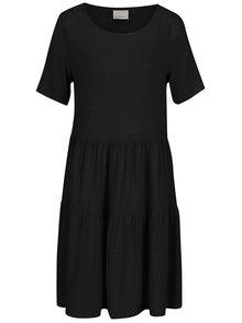 Černé šaty s krátkým rukávem VERO MODA Girlie