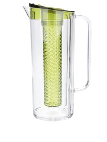 Plastový džbán s detaily v zelené barvě Kitchen Craft 1,5 l