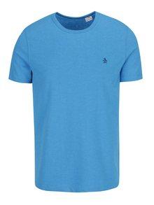 Modré triko s krátkým rukávem Original Penguin Peached Jersey