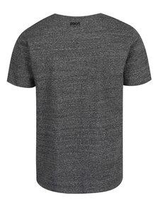 Tmavosivé pánske tričko ZOOT Originál Velryba