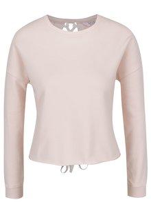 Bluză roz Miss Selfridge cu șireturi