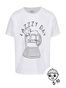 Biele chlapčenské tričko ZOOT Kids Lazy day
