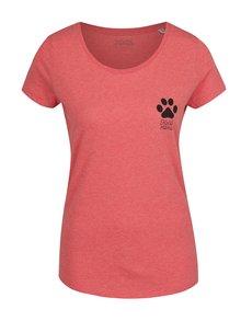 Červené dámské triko ZOOT Originál Kočičí máma