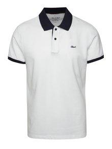 Modro-bíle polo triko Blend