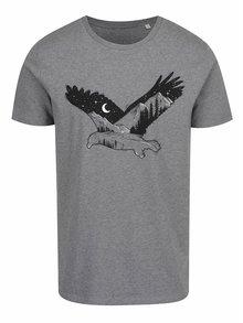Tricou gri de bărbați ZOOT Original Eagle