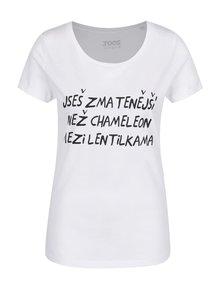 Bílé dámské tričko ZOOT Originál Chameleon