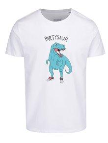 Tricou de bărbați alb ZOOT Original Partysaur