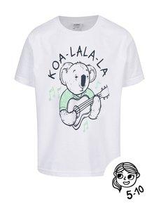 Bílé dětské triko ZOOT Kids Koa_la