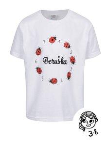 Bílé holčičí tričko ZOOT Kids Beruška