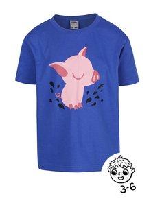Modré chlapčenské tričko ZOOT Kids Prasátko