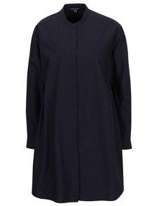 Tmavě modré volné košilové šaty French Connection Wilis