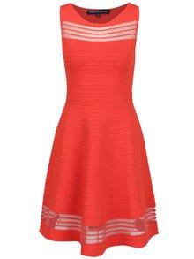 Červené šaty French Connection Tobey