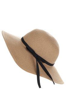 Světle hnědý klobouk s mašlí Pieces Lele