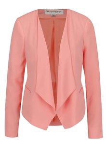 Ružové sako s cípmi Miss Selfridge