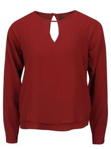 Bluză ONLY Mariana roșie