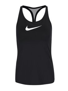 Černé dámské funkční tílko s logem Nike Dry