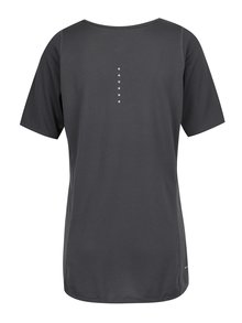 Tmavosivé dámske funkčné tričko Nike Zonal Cooling Relay