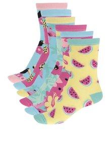 Șosete Oddsocks Tropicool pentru femei multicolore