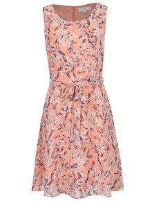 Rochie portocalie Apricot cu model