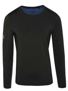 Čierne funkčné tričko s dlhým rukávom Blend