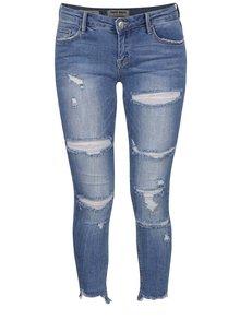 Světle modré zkrácené džíny s potrhaným efektem TALLY WEiJL