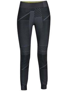 Čierne dámske vzorované legíny Nike
