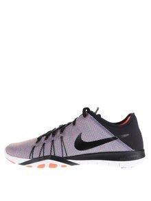 Pantofi sport negru&portocaliu Nike Free 6 Print