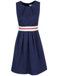 Rochie albastru închis Apricot cu detaliu în talie