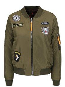 Jachetă bomber kaki Haily's Bowby
