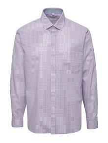 Růžovo-modrá pánská kostkovaná košile Seven Seas Toulouse