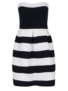 Bílo-modré pruhované šaty Haily's Lily