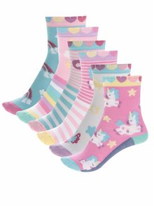 Set de 6 șosete multicolore Oddsocks Fairy cu model