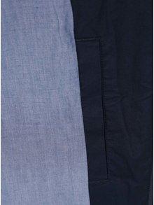 Jacheta subtire albastru inchis Original Penguin Harrington cu guler inalt