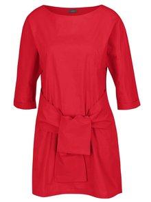 Rochie roșie  ZOOT cu panglici oversized