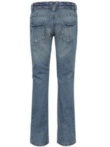 Modré holčičí slim džíny s potrhaným efektem name it Telse