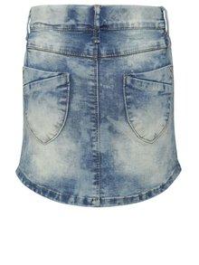 Modrá džínová holčičí sukně s potrhaným efektem name it Time