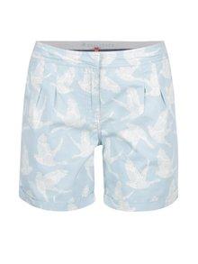 Pantaloni scurți albastru deschis Brakeburn cu model