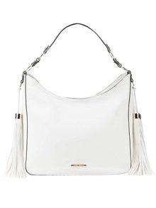 Bílá kabelka s třásněmi LYDC