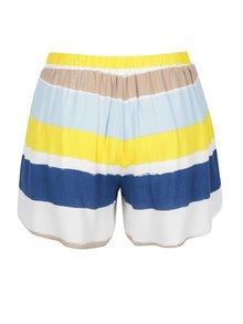 Pantaloni scurti multicolori cu talie elastica  VILA Nilas