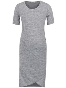 Sivé melírované tehotenské šaty Dorothy Perkins
