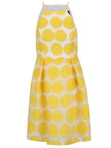 Žlté kvetované šaty Dorothy Perkins