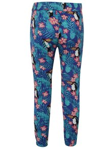 Pantaloni albastri cu model Roxy de fete
